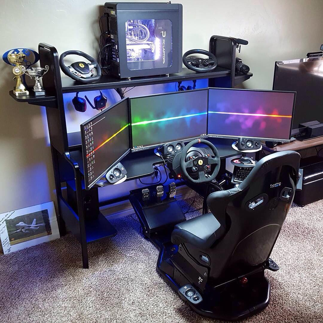 77 Ide Desain Kamar Gaming Minimalis HD Terbaru Yang Bisa Anda Tiru