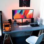 Meja Komputer Gaming Minimalis Cocok Juga Untuk Ruang Kerja Dirumah