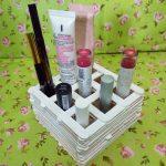 Membuat Tempat Makeup Dari Stik Es Krim