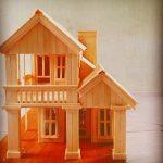 Miniatur Rumah Dari Stik Es Krim Kreasi Dari Stik Es Cream