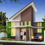 Model Atap Rumah Miring Terbaru