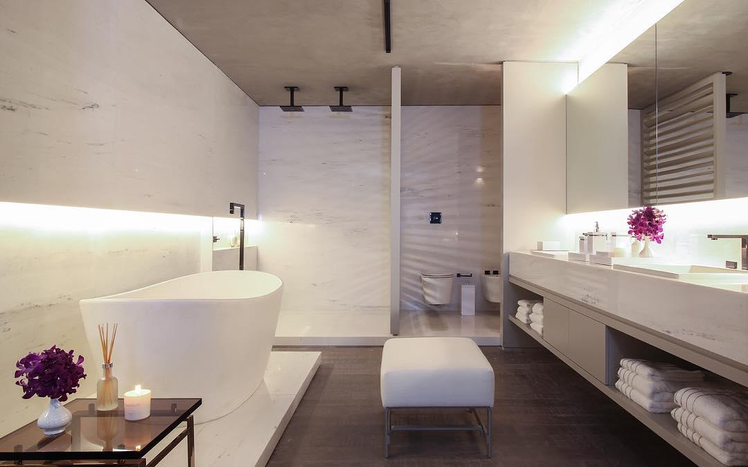 32 model kamar mandi hotel mewah minimalis terbaru 2019 for Dekor kamar hotel