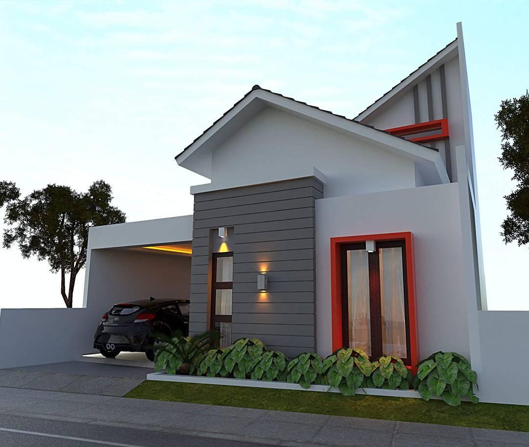 Model Rumah Minimalis Sederhana Tampak Depan