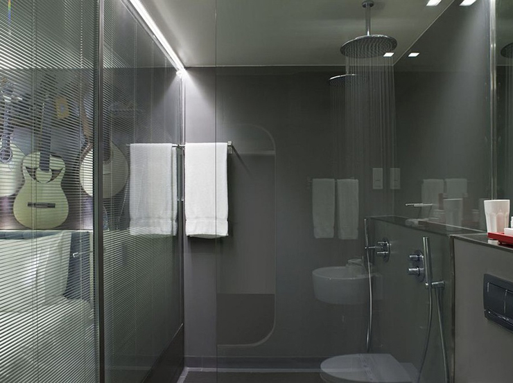 25 model shower kamar mandi minimalis modern terbaru 2018 for Dekor kamar hotel