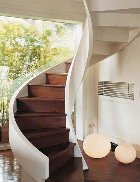 27 Model Tangga Rumah Minimalis Modern Terbaru 2020