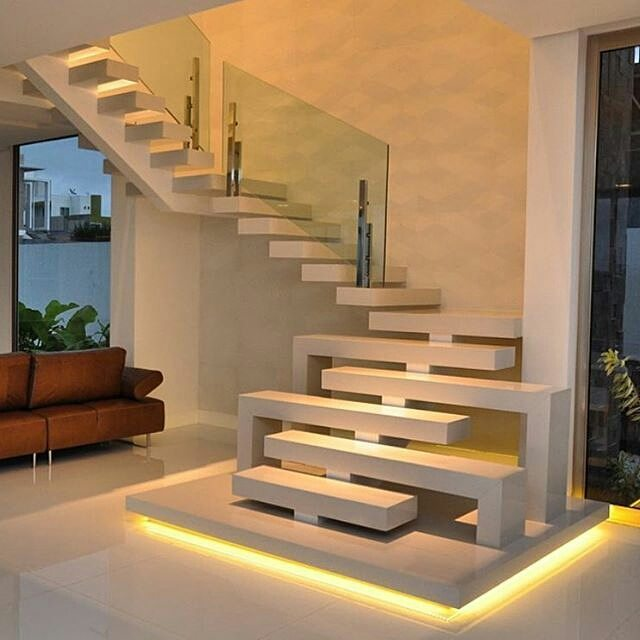 27 Model Tangga Rumah Minimalis Modern Terbaru 2018 ...