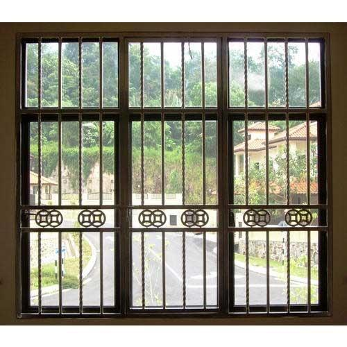 31 model dan motif teralis jendela minimalis terbaru 2018 for Window design pakistan