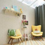 Motif Keramik Lantai Rumah Minimalis Warna Kuning