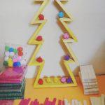 Pohon Natal Dari Stik Es Krim