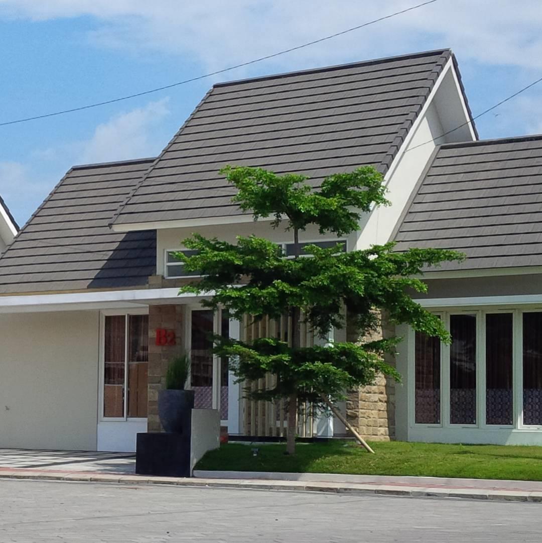 rumah desa sederhana dan modern terbaru