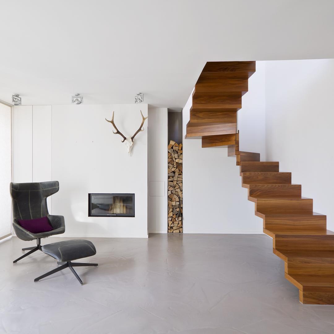 27 model tangga rumah minimalis modern terbaru 2017