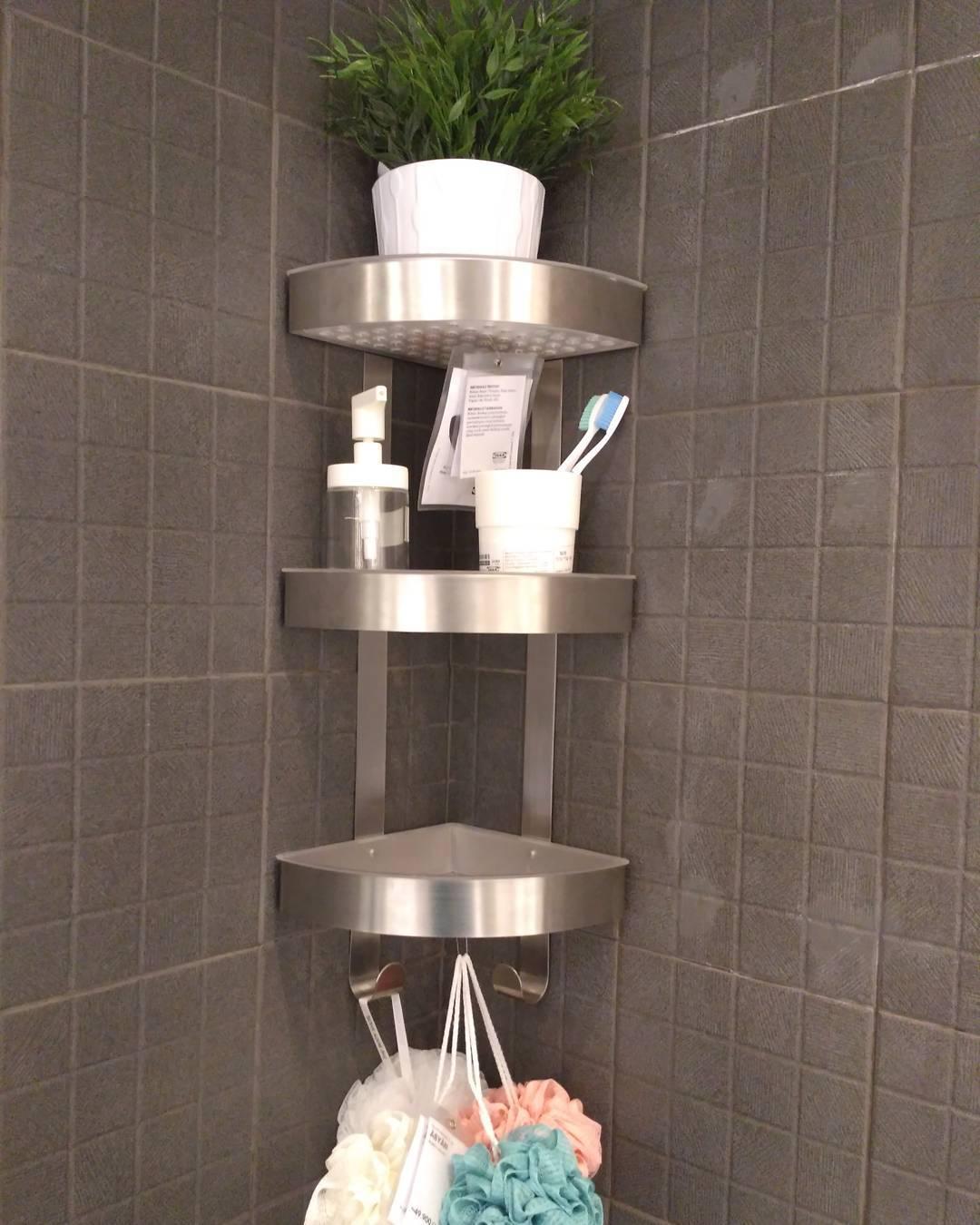 36 Model Rak Kamar Mandi Minimalis Kecil Tempat Sabun Sampo Dll 2021 Dekor Rumah Rak sabun di kamar mandi