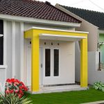Tiang Teras Minimalis Desain Teras Rumah Sederhana Dengan Warna Cat Yang Bagus Dan Taman Rumah Minimalis