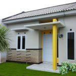 Tiang Teras Rumah Dengan Model Teras Minimalis Dengan Batu Alam