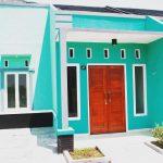 Warna Cat Rumah Minimalis Tampak Depan Hijau Cat Luar Rumah Hijau