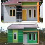 Warna Cat Rumah Yang Lagi Ngetrend Dengan Model Tiang Teras Depan Rumah Minimalis