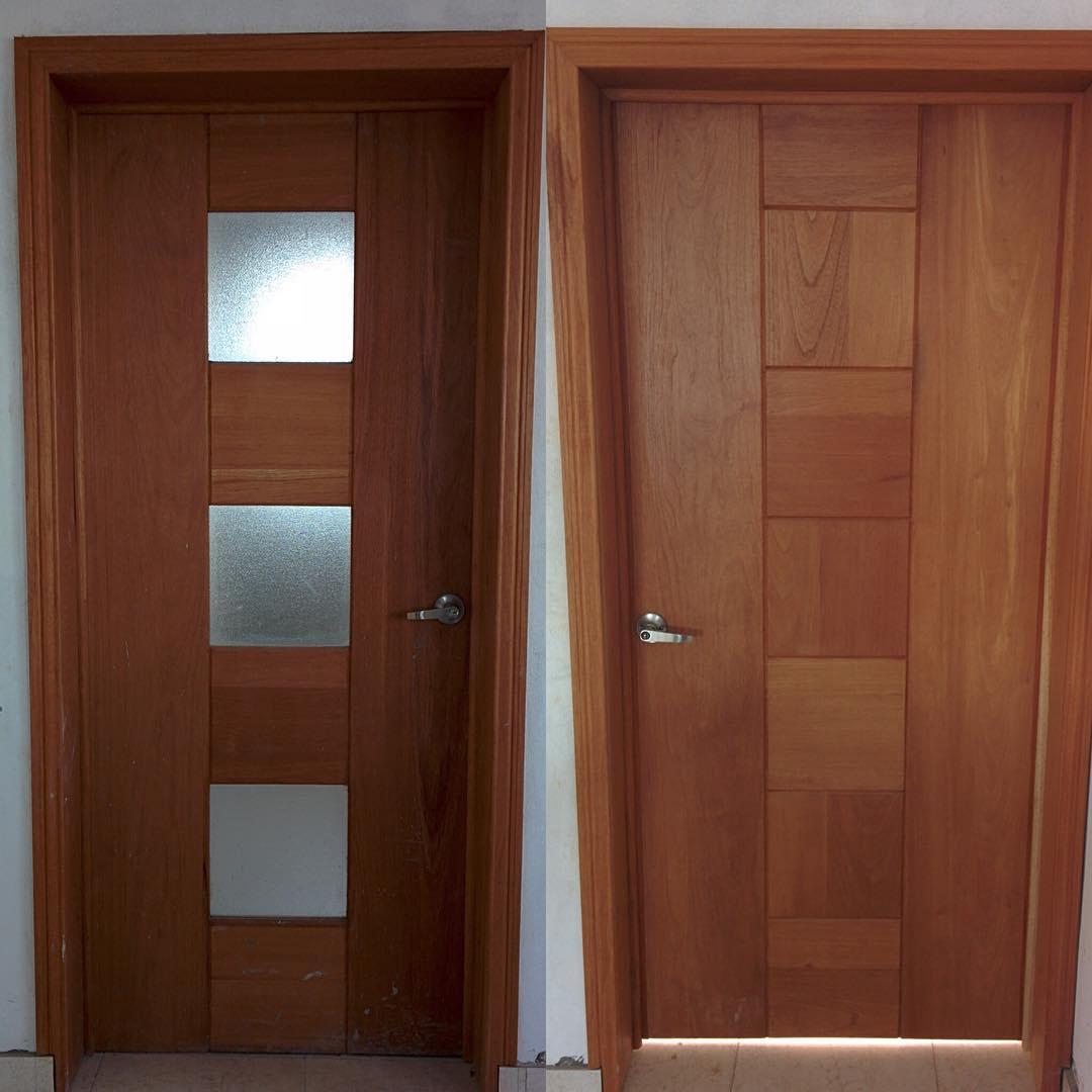 Desain Pintu Kamar Tidur Minimalis Kayu