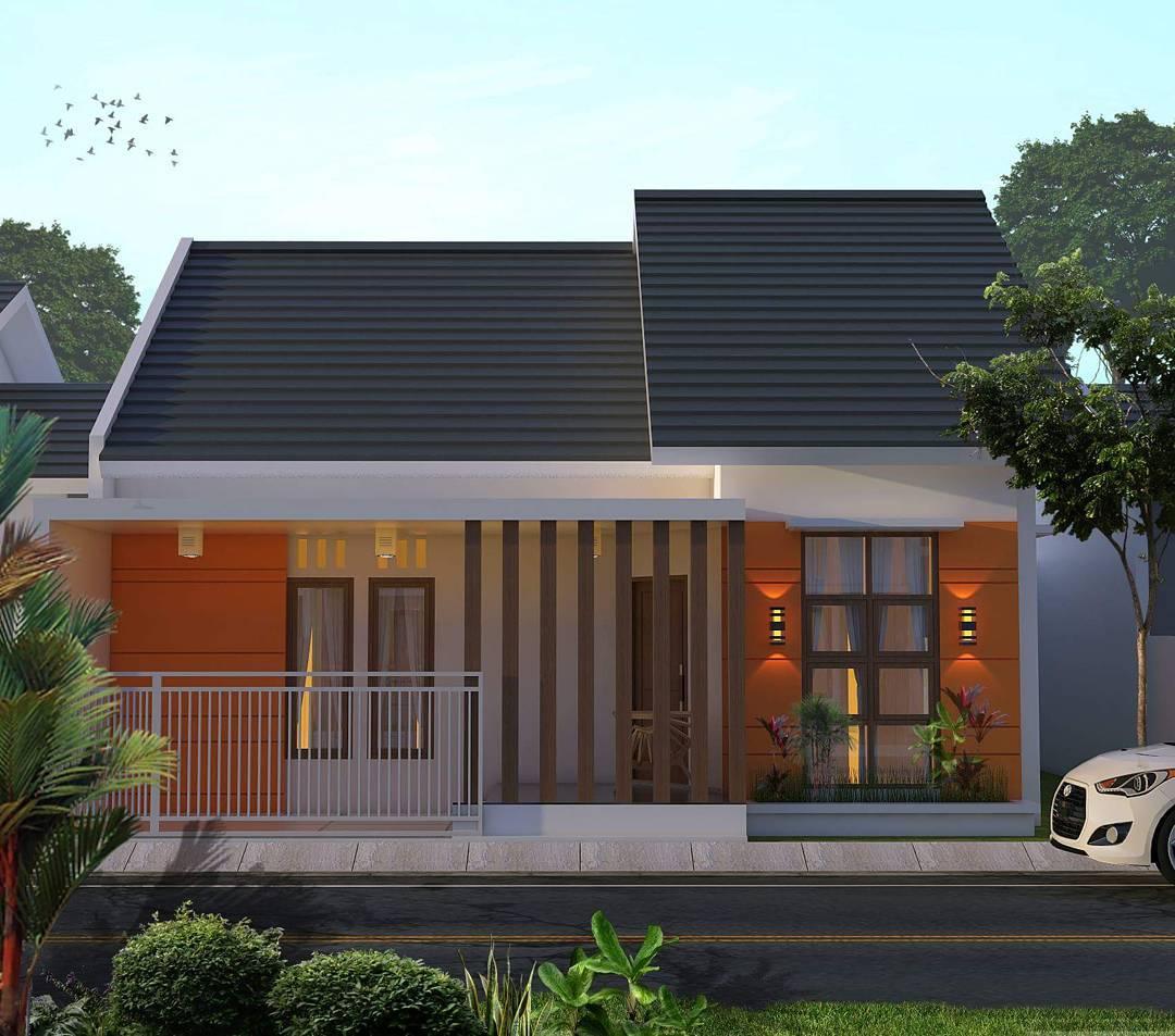 Gambar Tampak Depan Rumah Minimalis 1 Lantai