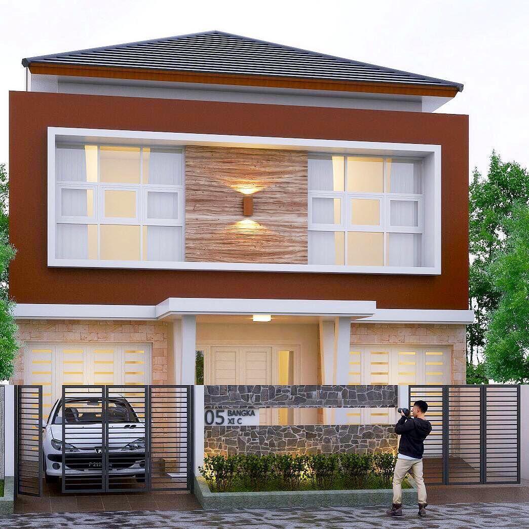30 Gambar Tampak Depan Rumah Minimalis 1 Dan 2 Lantai 2017 Terbaru