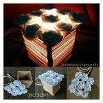 Cara Membuat Lampu Meja Dari Stik Es Krim