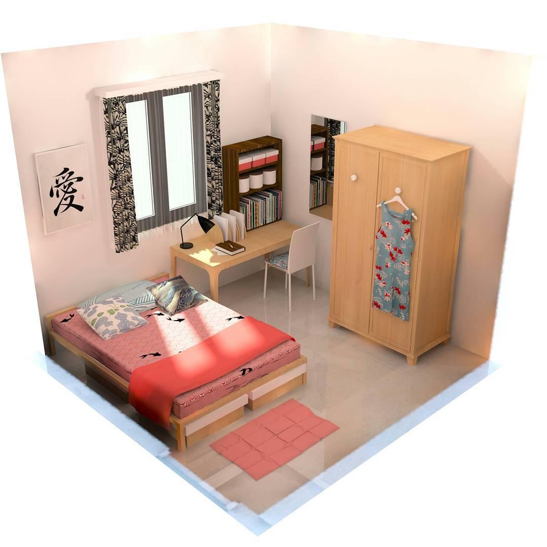 16 ide dekorasi dan menata kamar kost makin keren 2019 | dekor rumah