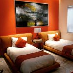 Cat Kamar Tren Orange