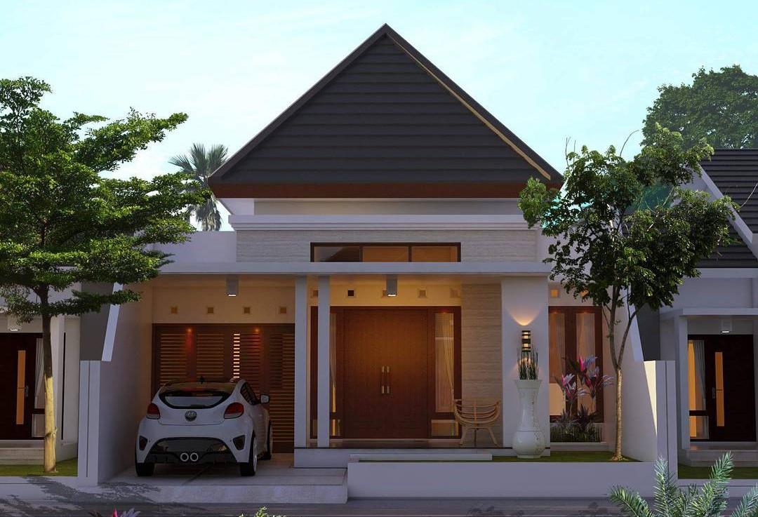 Contoh Rumah Sederhana Tapi Mewah Untuk Tempat Tinggal Di Desa Yang Keren