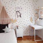 Dekorasi Dinding Kamar Anak Perempuan Minimalis