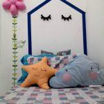Dekorasi Dinding Kamar Tidur Anak Perempuan Sederhana Kreatif