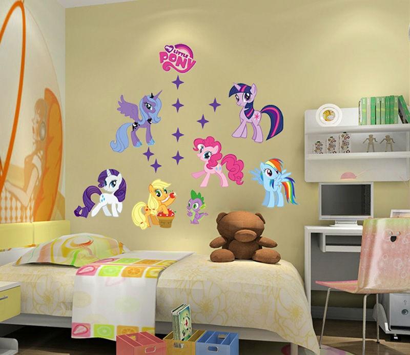 Dekorasi Dinding R Tidur Dengan Stiker Lucu Untuk Anak