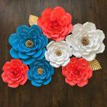 Dekorasi Dinding Ruang Tamu Dengan Bunga Buatan Sendiri