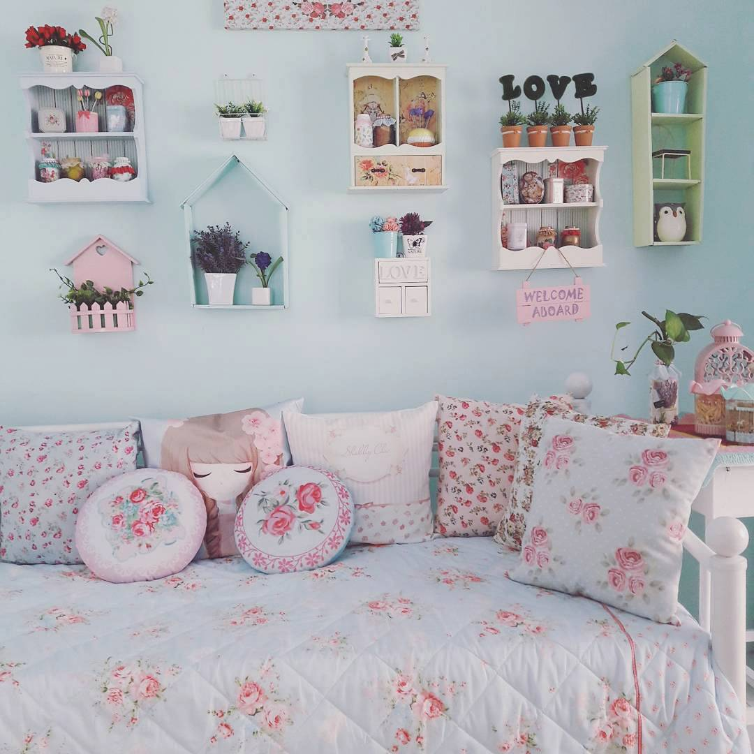 Desain Ruang Tamu Shabby Chic Kumpulan Desain Rumah