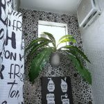 Dekorasi Interior Kamar Mandi Dengan Tanaman Dan Aturan Kamar Mandi