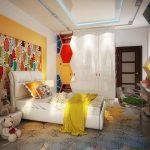 Dekorasi Interior Kamar Tidur Minimalis Kreatif 3x4