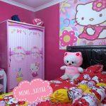 Dekorasi Kamar Anak Perempuan Minimalis Dengan Wallpaper Dinding