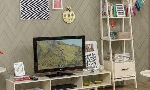 Dekorasi Meja Tv Minimalis Modern Bergaya Scandinavian
