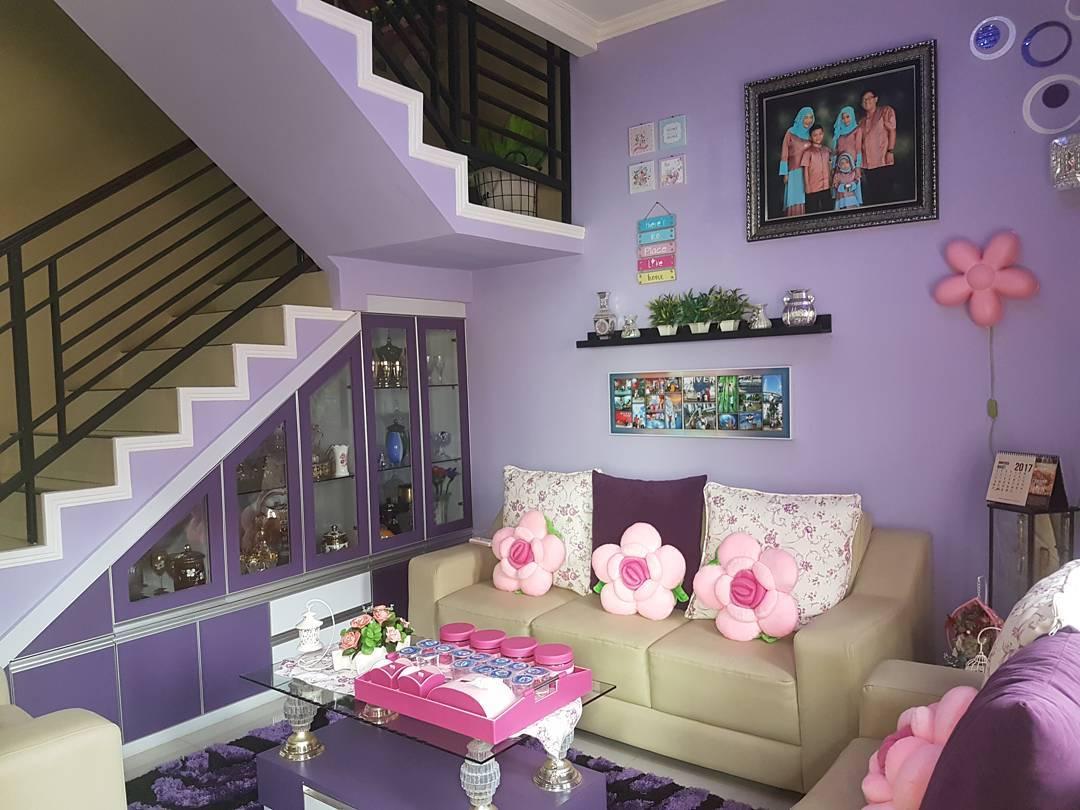 25 dekorasi dinding ruang tamu minimalis cantik kreatif