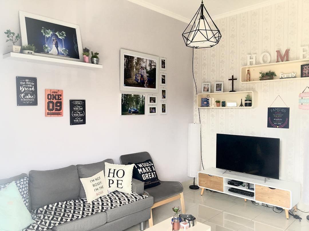 ruang tamu minimalis rumah kecil