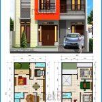 Denah Rumah Minimalis 2 Lantai Terbaru