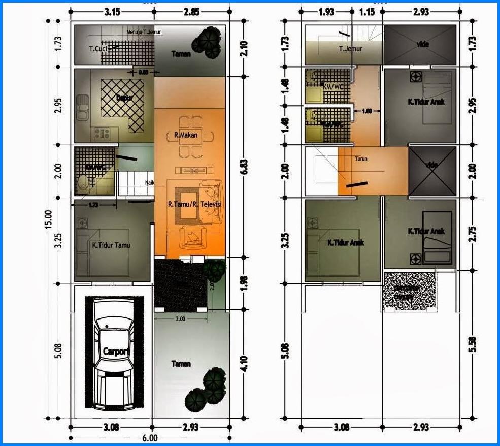 Rumah Minimalis 1 Lantai Ukuran 7x10 Desain Rumah Minimalis