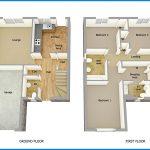 Denah Rumah Ukuran 6x12 2 Lantai
