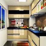 Desain Dapur Apartemen Rumah Susun