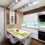 Desain Dapur Minimalis Modern Terbaru Dengan Kitchen Set Dan Meja Dapur
