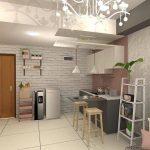 Desain Dapur Minimalis Modern Ukuran 3x3