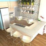Desain Dapur Minimalis Modern Untuk Apartemen