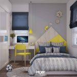 Desain Interior Kamar Tidur Anak Laki Laki Minimalis Keren