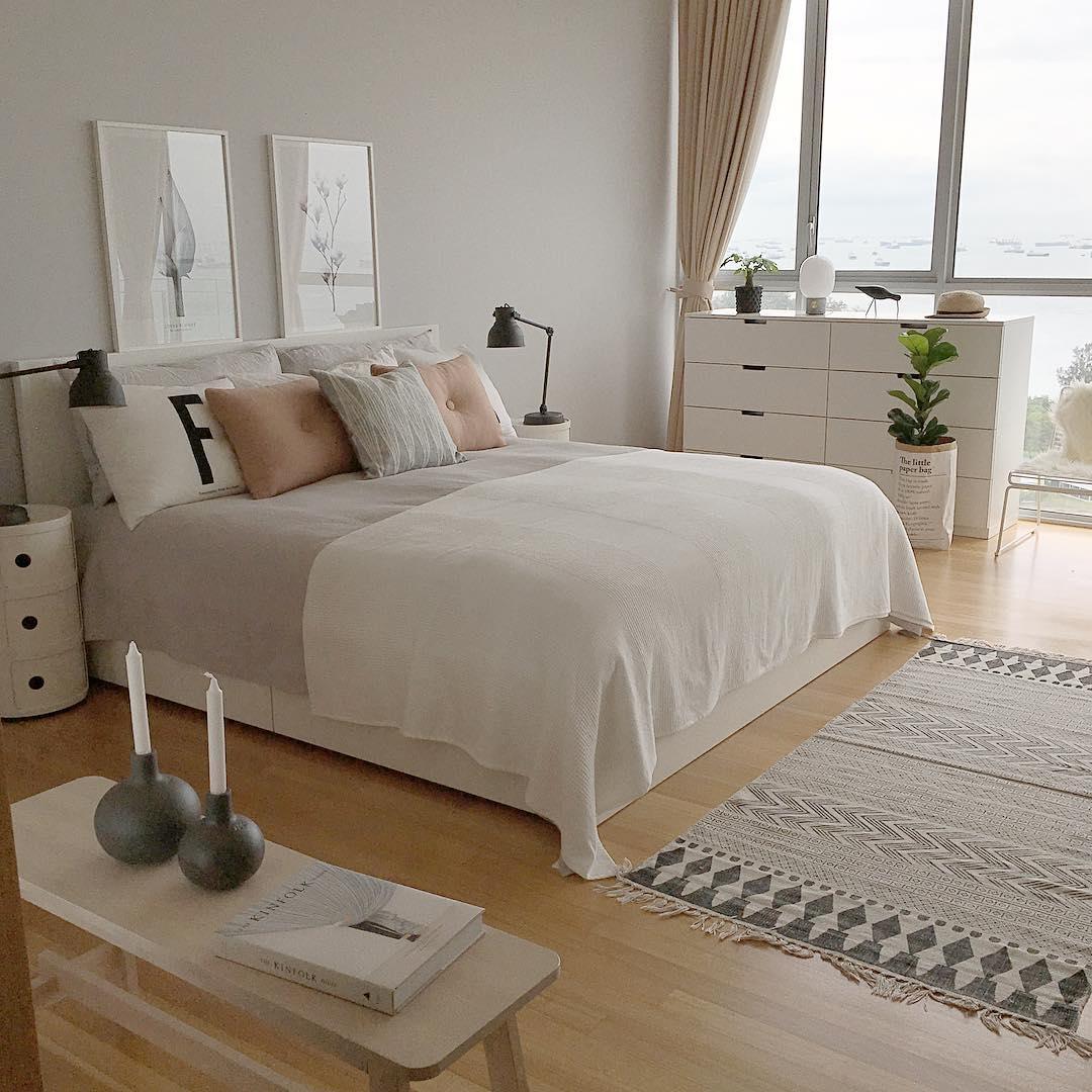 17 desain interior kamar tidur minimalis 2018 terbaru for Dekor kamar tidur hotel