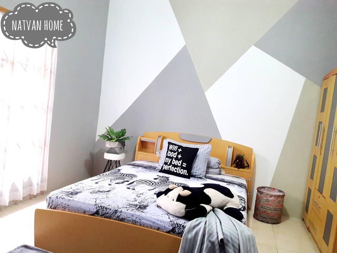 Desain Interior Kamar Tidur Minimalis 3x4 Dengan Warna Cat Yang Bagus