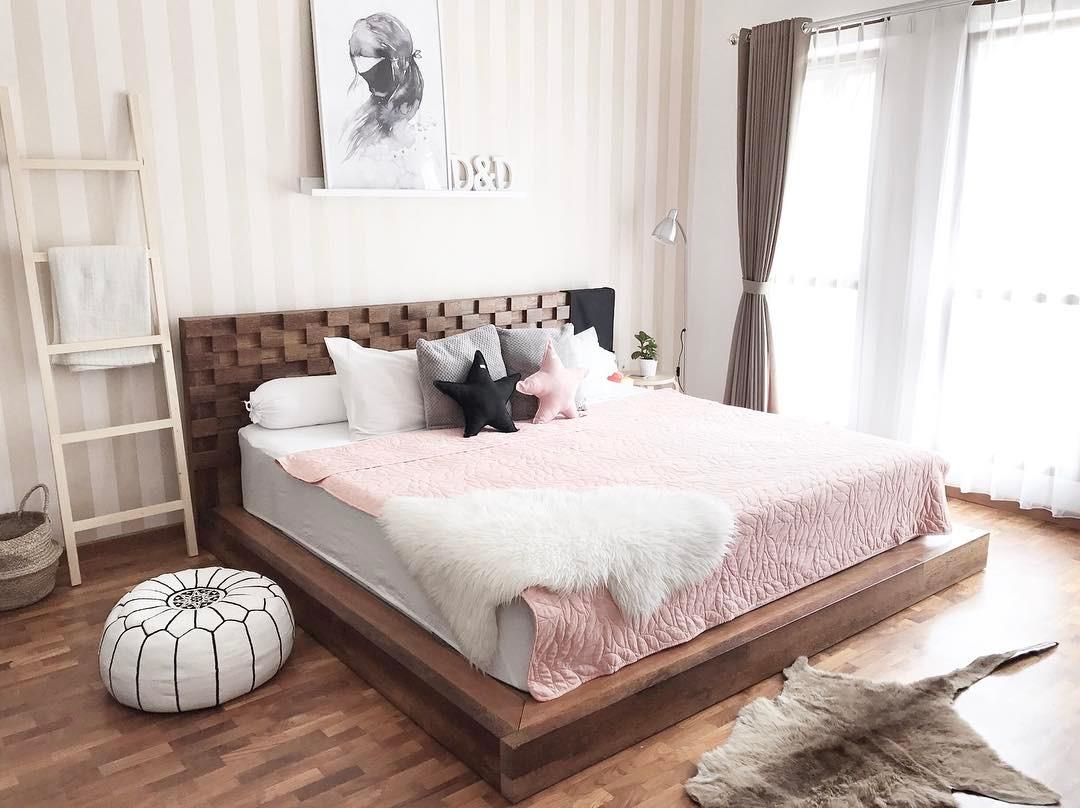 Desain Interior Kamar Tidur Perempuan Minimalis