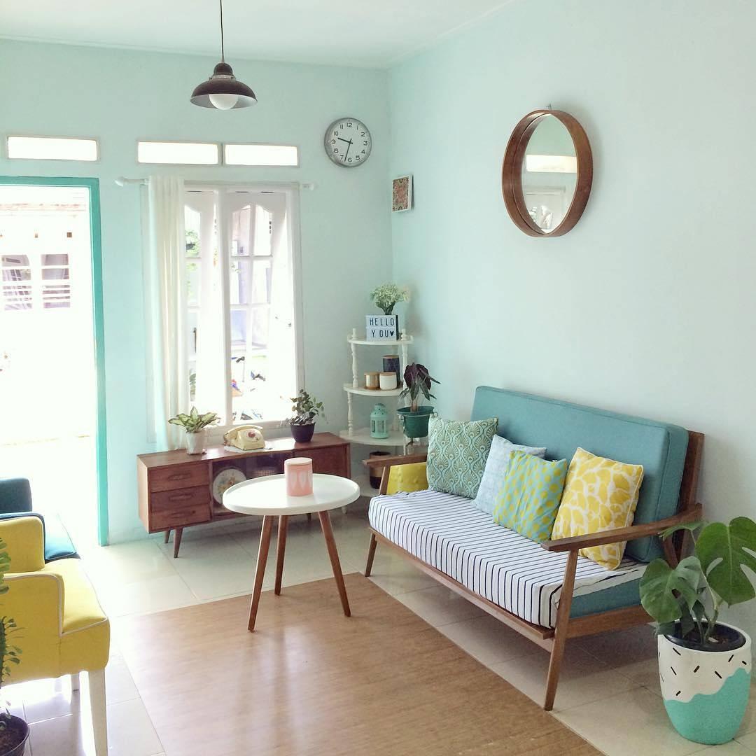 desain interior ruang tamu minimalis klasik